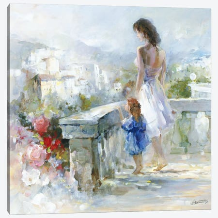 Breathtaking View Canvas Print #HAE107} by Willem Haenraets Canvas Art
