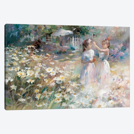 Bridesmaids Canvas Print #HAE108} by Willem Haenraets Canvas Print