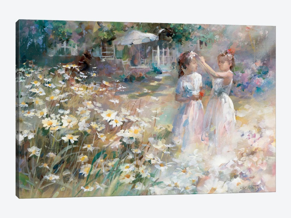 Bridesmaids by Willem Haenraets 1-piece Canvas Wall Art