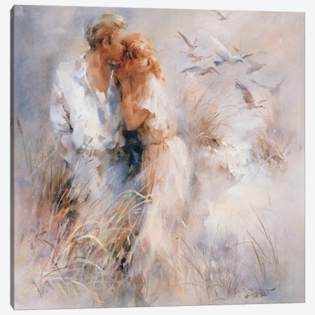 Close Harmony Canvas Print #HAE109} by Willem Haenraets Art Print