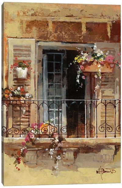 Balcony IV Canvas Art Print
