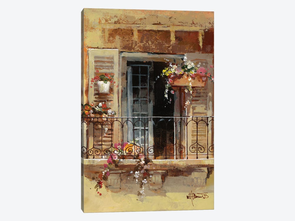 Balcony IV by Willem Haenraets 1-piece Art Print