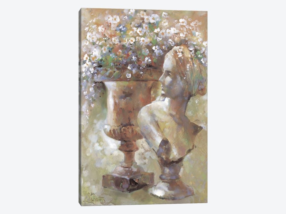 Colourful Sculpture by Willem Haenraets 1-piece Art Print