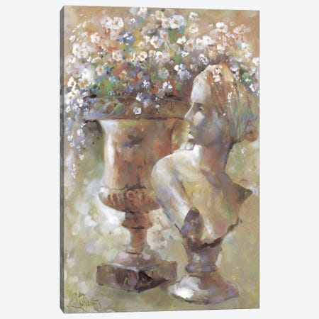 Colourful Sculpture Canvas Print #HAE110} by Willem Haenraets Canvas Artwork