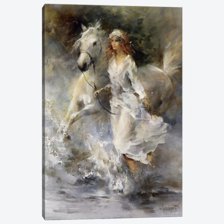 Cool Breeze Canvas Print #HAE111} by Willem Haenraets Canvas Art