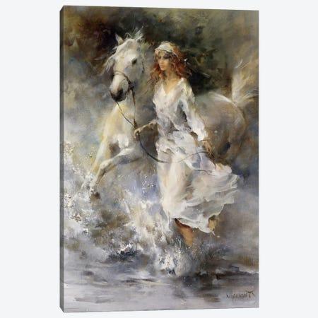 Cool Breeze Canvas Print #HAE111} by Willem Haenraets Canvas Art