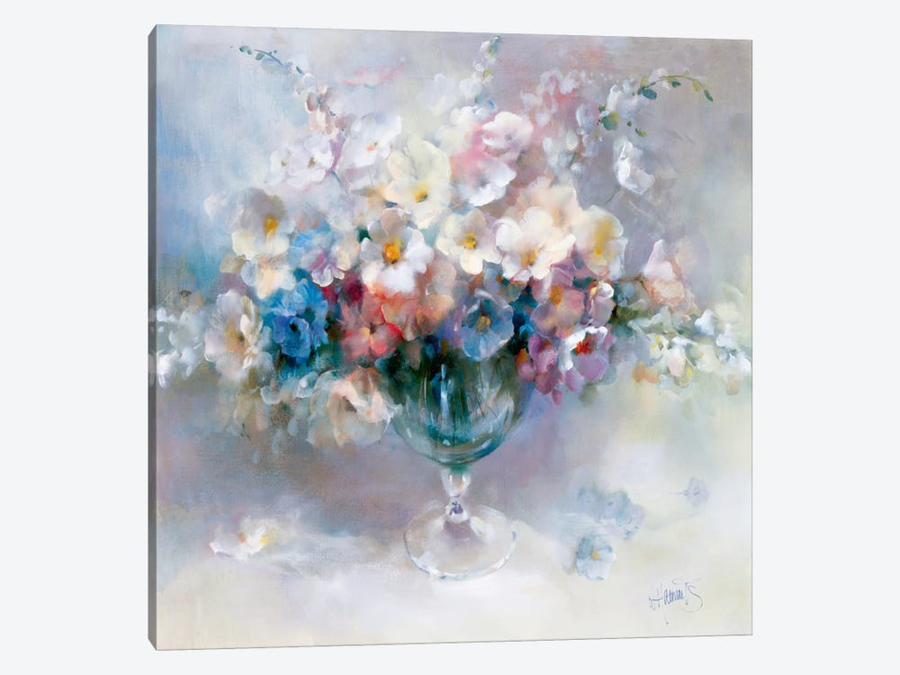 Crystal Flowers by Willem Haenraets 1-piece Art Print