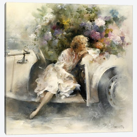 Day Dreaming Canvas Print #HAE113} by Willem Haenraets Canvas Art