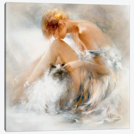 Desire Canvas Print #HAE114} by Willem Haenraets Canvas Print
