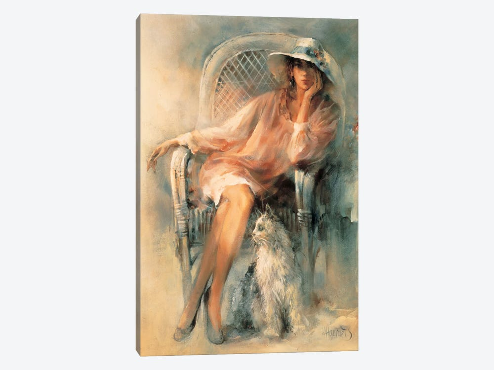 Double Beauty by Willem Haenraets 1-piece Canvas Art