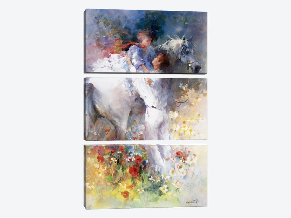 Embraceable You by Willem Haenraets 3-piece Art Print
