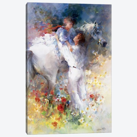 Embraceable You Canvas Print #HAE118} by Willem Haenraets Canvas Wall Art