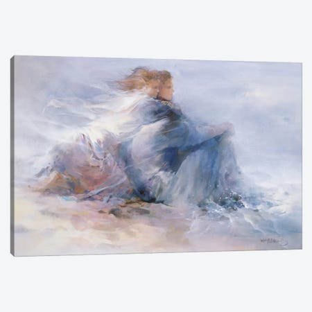 Endless Freedom Canvas Print #HAE120} by Willem Haenraets Art Print