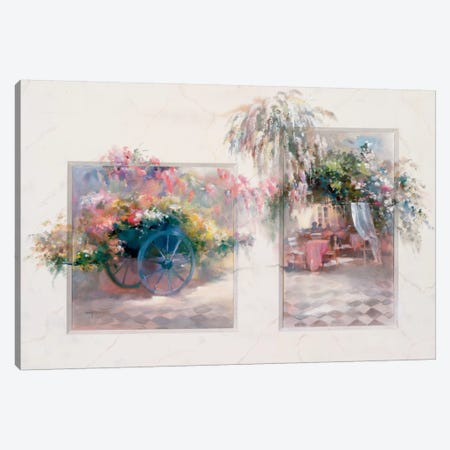 Entrance Canvas Print #HAE121} by Willem Haenraets Canvas Art Print