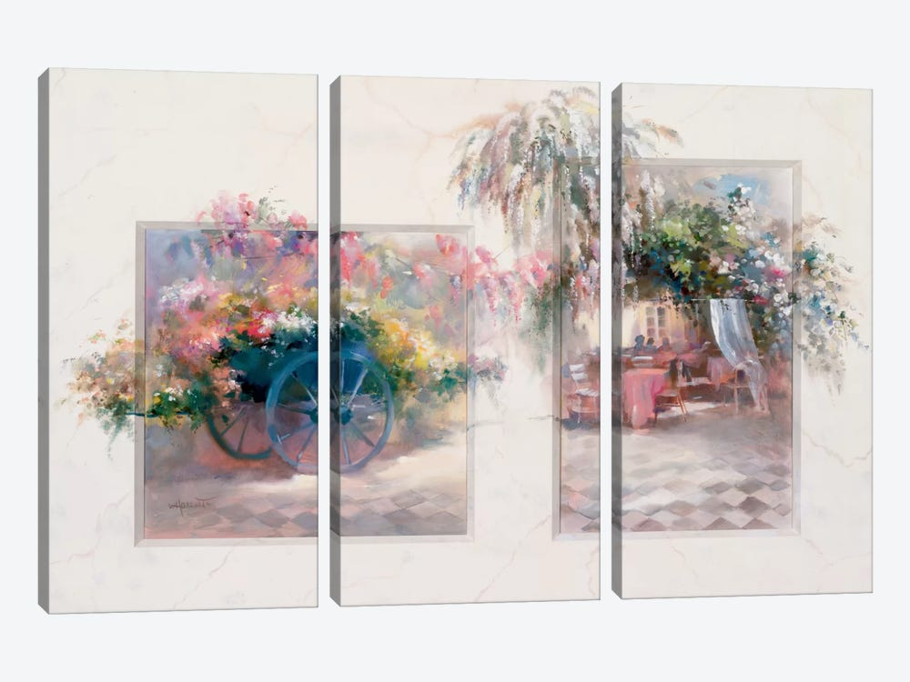 Entrance by Willem Haenraets 3-piece Art Print