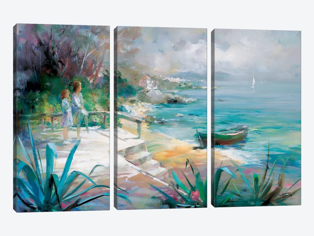 Expectations Fulfilled by Willem Haenraets 3-piece Canvas Artwork