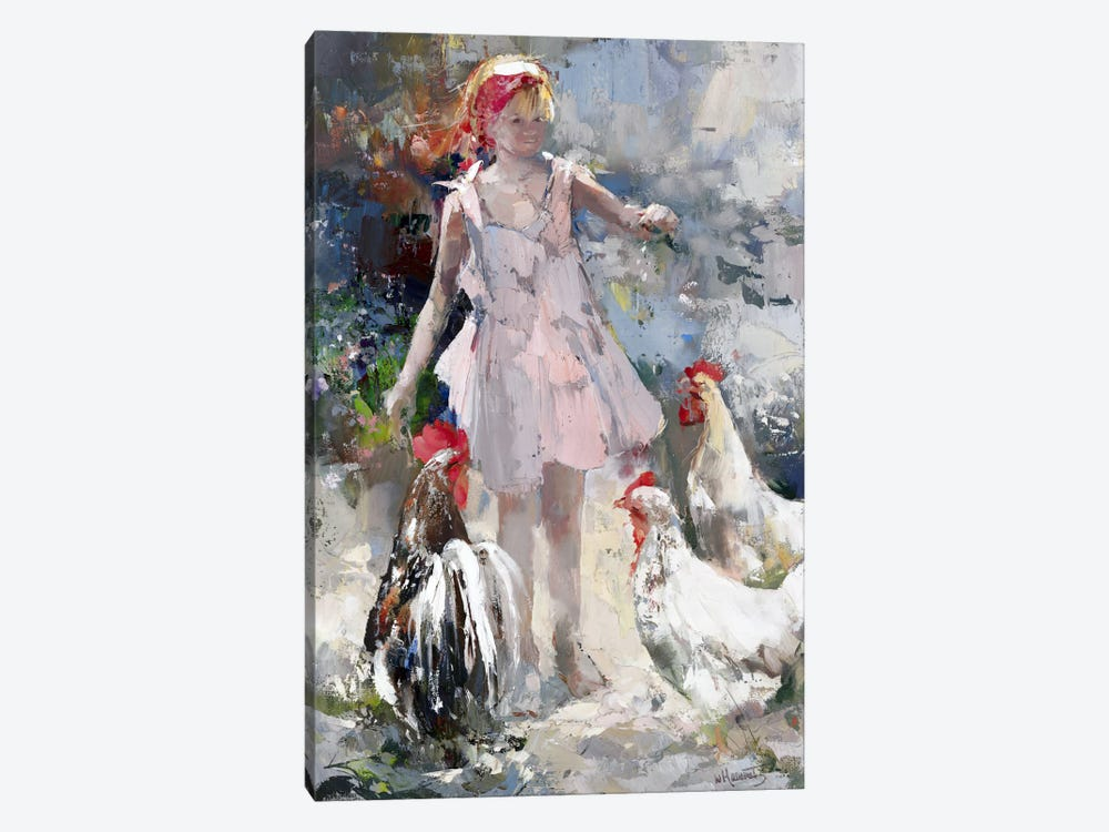 Feathered Friends by Willem Haenraets 1-piece Canvas Artwork