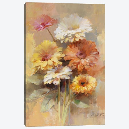 Floral Bouquet I Canvas Print #HAE127} by Willem Haenraets Canvas Wall Art
