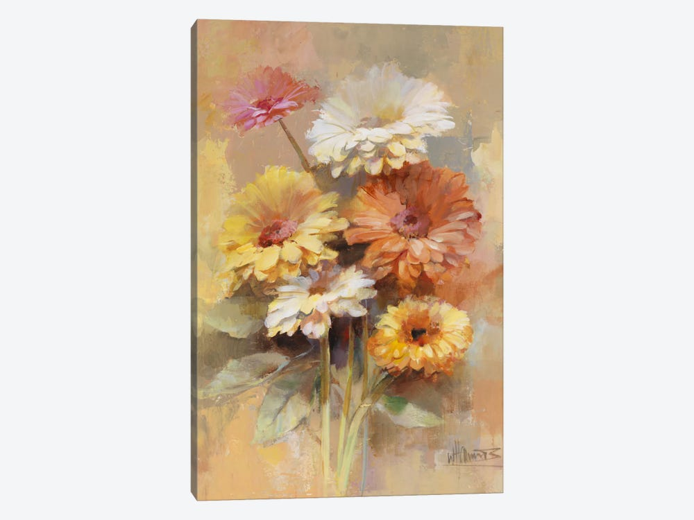 Floral Bouquet I by Willem Haenraets 1-piece Canvas Art Print