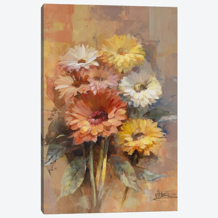 Floral Bouquet II Canvas Print #HAE128} by Willem Haenraets Art Print