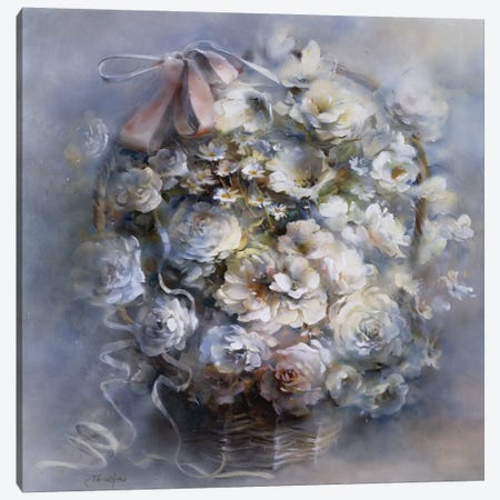 Floral Tribute Canvas Print #HAE131} by Willem Haenraets Canvas Artwork
