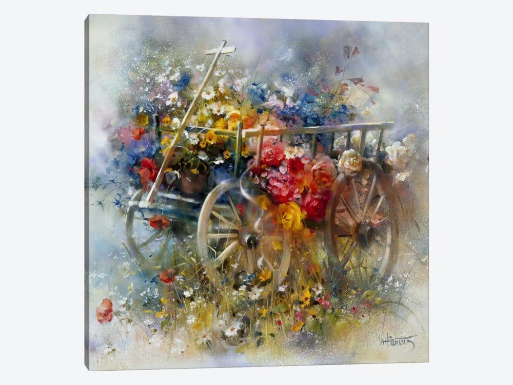 Flower Barrow by Willem Haenraets 1-piece Art Print