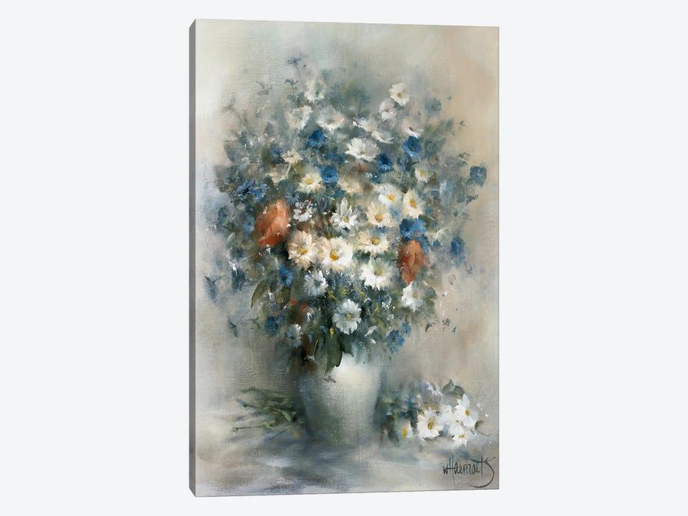 Flower Bouquet by Willem Haenraets 1-piece Canvas Artwork