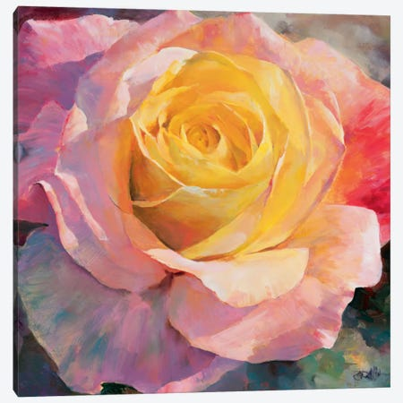 Flower I Canvas Print #HAE135} by Willem Haenraets Canvas Print