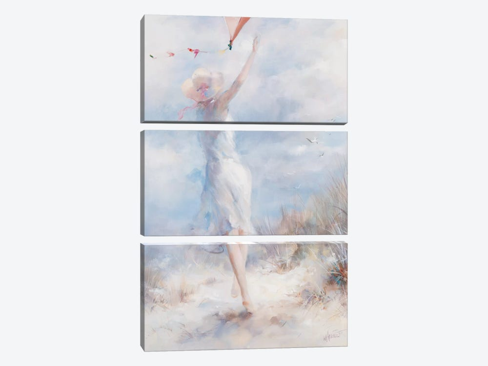 Fly A Kite by Willem Haenraets 3-piece Canvas Wall Art