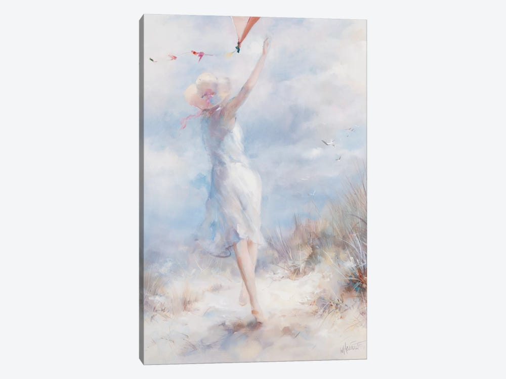 Fly A Kite by Willem Haenraets 1-piece Canvas Wall Art