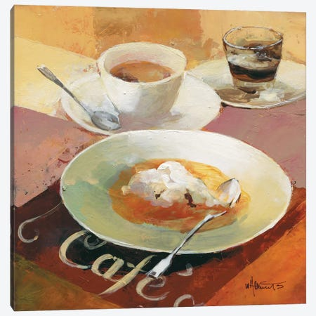 Cafe Grande I Canvas Print #HAE13} by Willem Haenraets Canvas Print