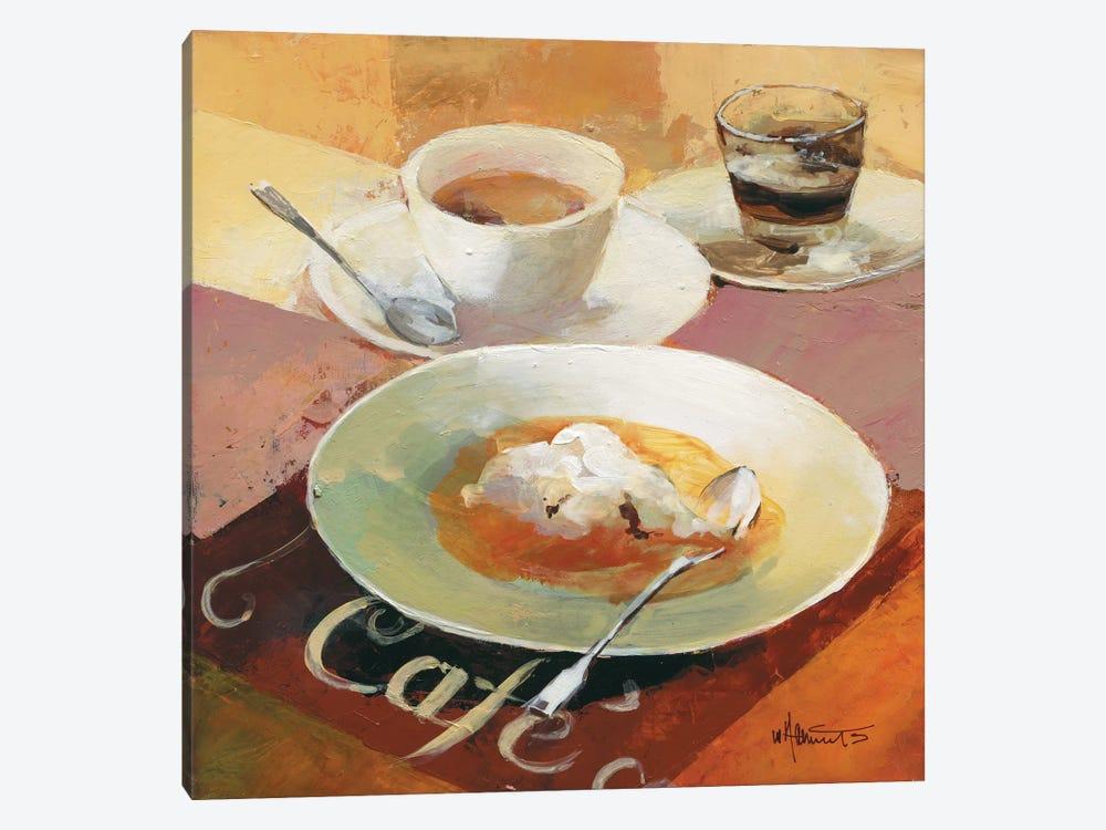 Cafe Grande I by Willem Haenraets 1-piece Canvas Artwork