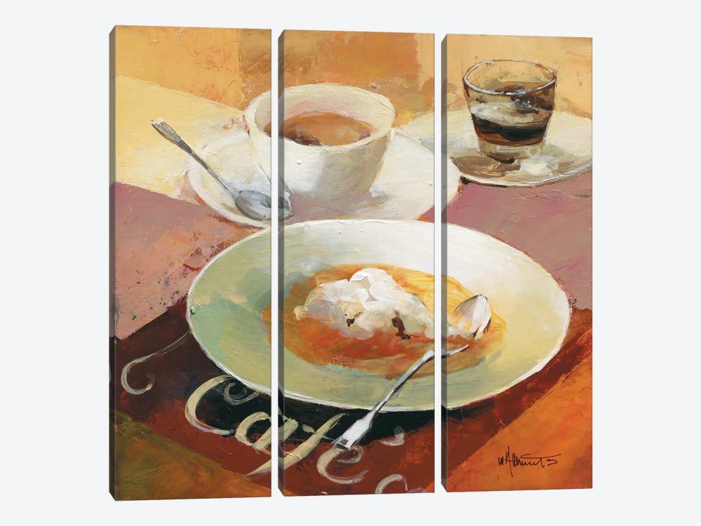Cafe Grande I by Willem Haenraets 3-piece Canvas Wall Art