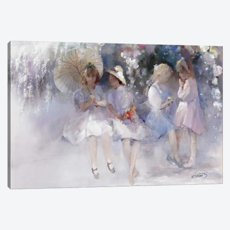 Friends Canvas Print #HAE140} by Willem Haenraets Canvas Art Print