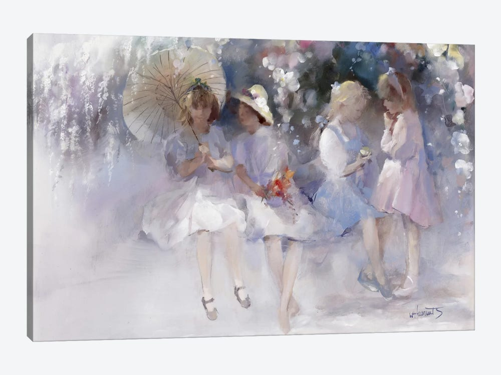 Friends by Willem Haenraets 1-piece Canvas Artwork