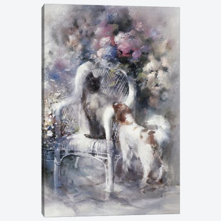 Friendship I Canvas Print #HAE141} by Willem Haenraets Canvas Art Print