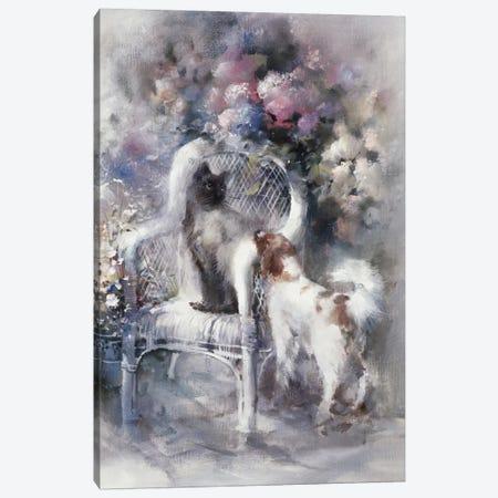 Friendship I Canvas Print #HAE141} by Willem Haenraets Canvas Art Print