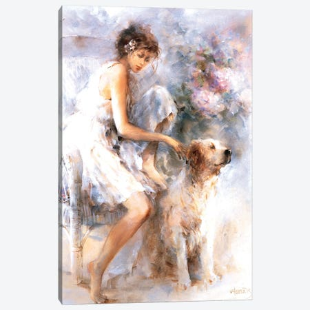 Friendship II Canvas Print #HAE142} by Willem Haenraets Art Print