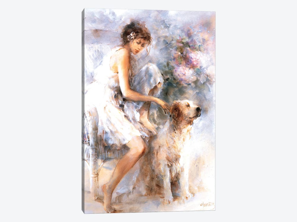 Friendship II by Willem Haenraets 1-piece Canvas Wall Art