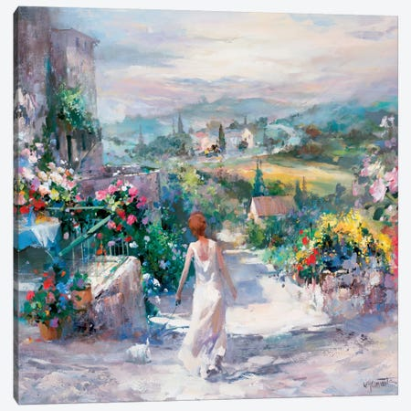 Gardin Tuni Canvas Print #HAE143} by Willem Haenraets Canvas Print