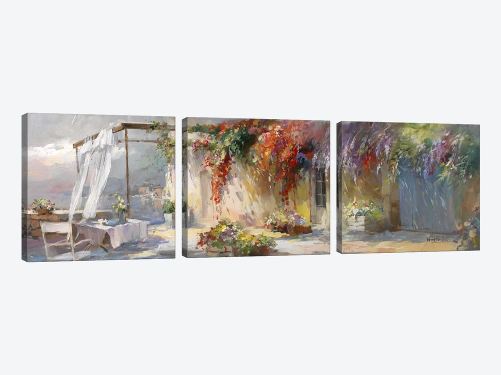 Gardino I by Willem Haenraets 3-piece Canvas Artwork