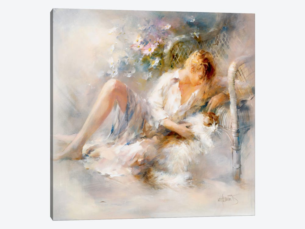 Gentle by Willem Haenraets 1-piece Canvas Art