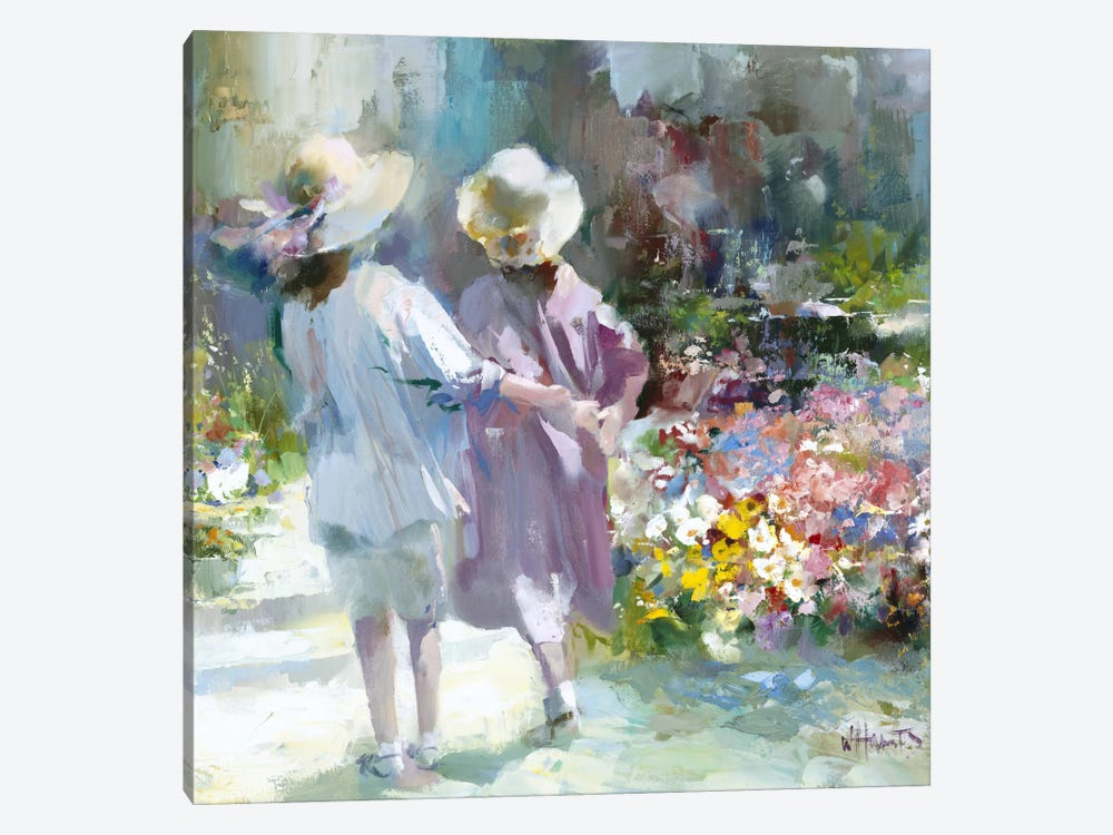 Girls by Willem Haenraets 1-piece Art Print
