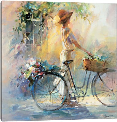 Go For A Ride Canvas Art Print