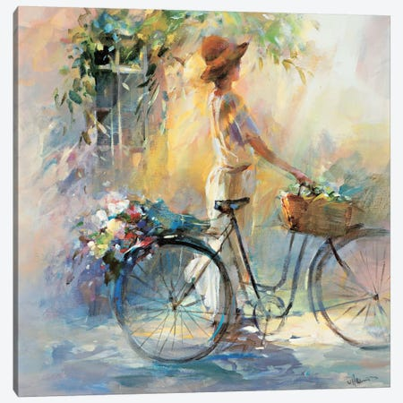 Go For A Ride Canvas Print #HAE148} by Willem Haenraets Art Print