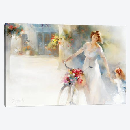 Going Home Canvas Print #HAE149} by Willem Haenraets Canvas Art Print