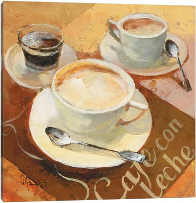 Cafe Grande II Canvas Art Print