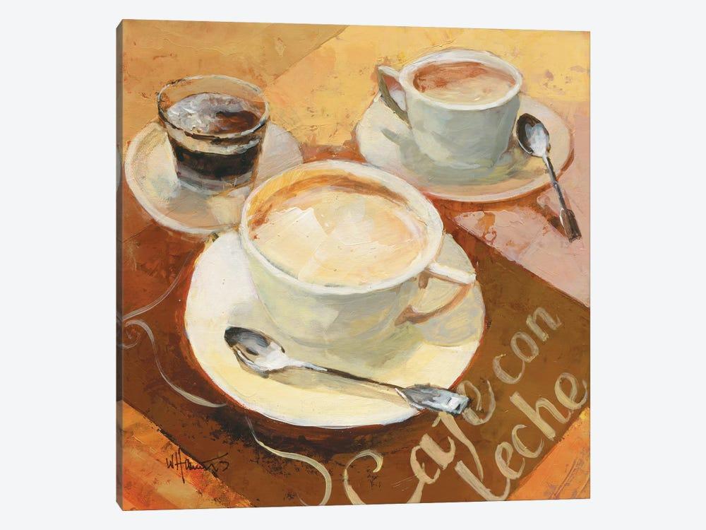 Cafe Grande II by Willem Haenraets 1-piece Canvas Art Print
