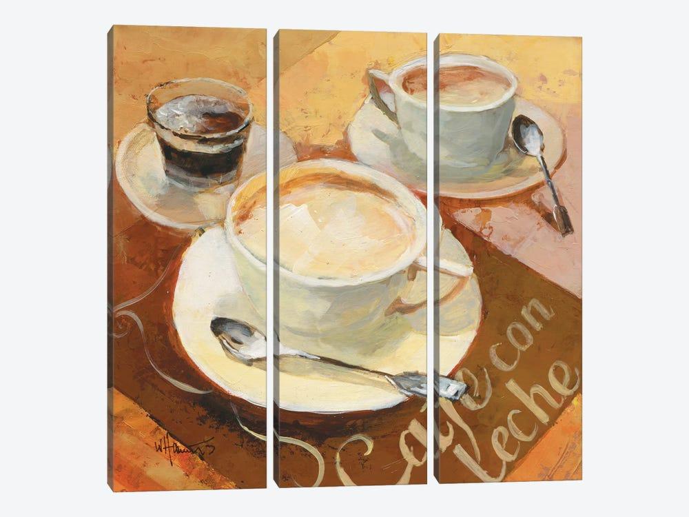 Cafe Grande II by Willem Haenraets 3-piece Canvas Print