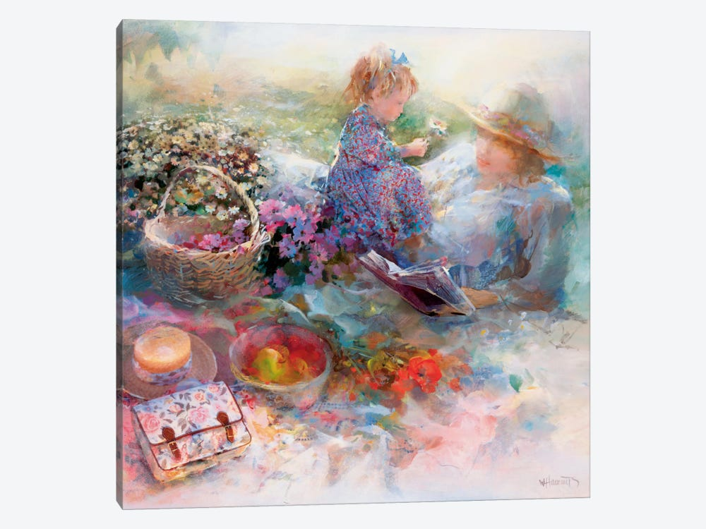 Golden Moment by Willem Haenraets 1-piece Canvas Print